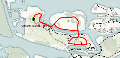 Centre and Olympic Islands Map