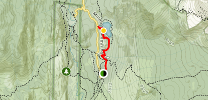 Dinosaur Falls Trail Map
