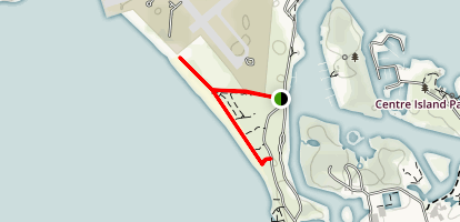 Hanlan's Point Beach Trail Map
