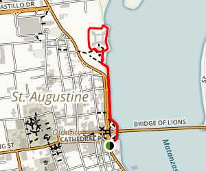 St. Augustine Walking Tour Map