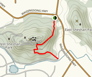 Sheshan Forest Trail Map