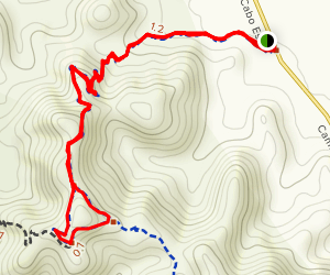 Backside and Coyote Loop Trail Map