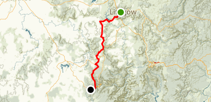 Lithgow to Forest Lodge via BNT Map