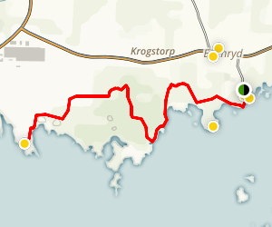 Edenryds Kustled Trail Map
