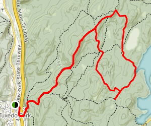 Parker Cabin Mountain Loop Trail Map
