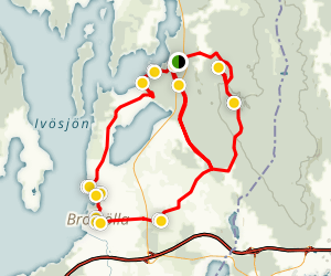 Gustavsbergsleden Trail Map