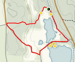 Näsumaviksleden Trail Map