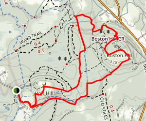 Ward Reservation Loop Map