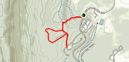 Club Run Trail Map