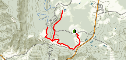 Back Hollow Trail Map