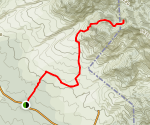 Gawahi to Nala Dakrog MTB Trail Map