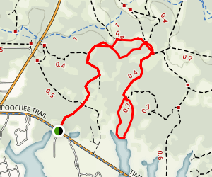 Flatwoods Trail Map