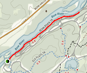 Bow River Trail Map