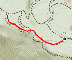 Rock City Trail Map