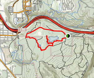 Tradition Lake Loop Trail Map