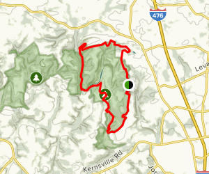 Trexler Border Trail Map