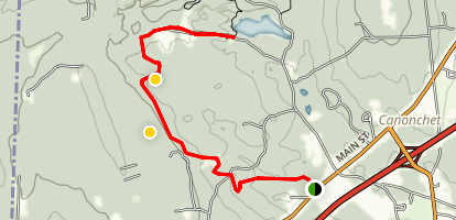 Ashville Pond Trail Map