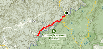 Bartram Trail to Sandy Ford - South Carolina | AllTrails on allegheny national forest topo map, talladega national forest horse trails map, virginia national forests map, croatan national forest map, congaree national park trail map, bass lake sierra national forest map, sc mountains map, sequoia national park hiking trails map, south carolina sumter national forest map, black hills national forest on map, kincaid single track trails map, francis marion forest map, idaho sawtooth national forest map, sumter national forest sc map, forest falls hiking trails map, pike national forest topo map, daniel boone national forest map, mendocino national forest map, shawnee state forest trail map, sequoia national park wilderness map,