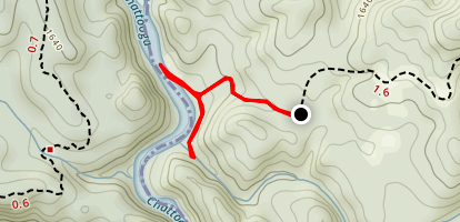 Whetstone Falls Trail Map