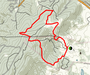 Sky Meadows Loop Map