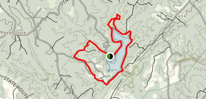 Holliday Lake Trail Map