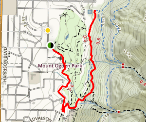 Gibbs Trail Map