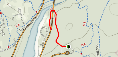 Coloneh Trail Map