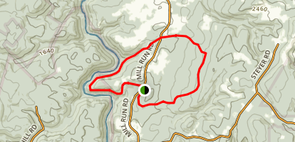 Bear Run Park Hiking Trail Map