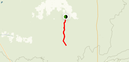 Dry River Canyon Trail Map