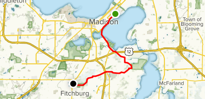 Capital City Trail Map