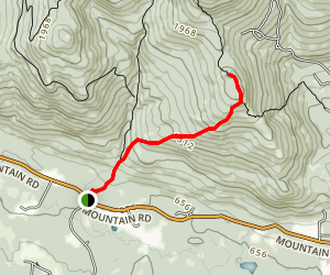 Big Ball Mountain Trail Map