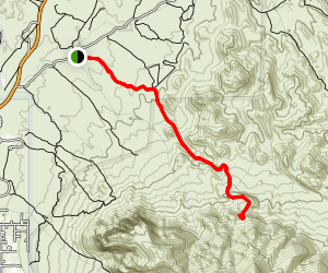 Massacre Grounds Trail Map
