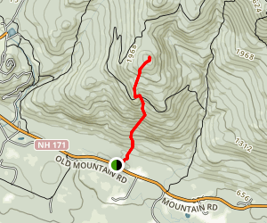 Bald Knob & Turtleback Mountain Trail Map
