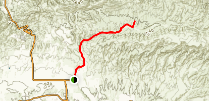 Happy Camp Canyon Trail Map