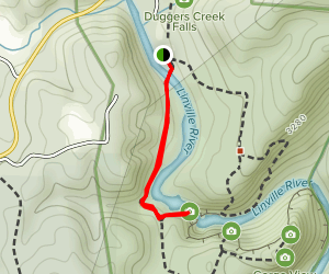 Linville Falls Trail Map