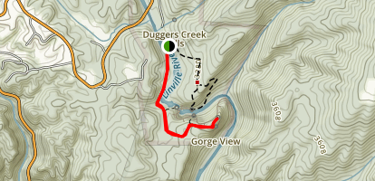 Erwins View Trail Map