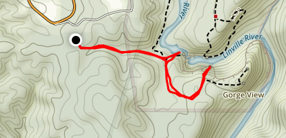 Linville Falls Overlook Trail Map