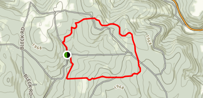 Virgil Mountain Trail Map