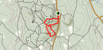 Wachusett Mountain State Reservation Loop Trail Map