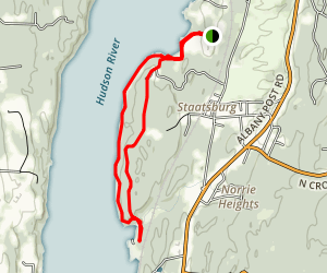 Norrie Point Trail Map
