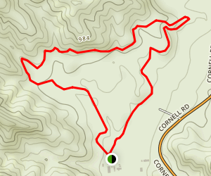 Overlook Trail - Paramount Ranch Map