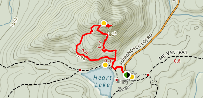 Mount Jo Loop Trail Map