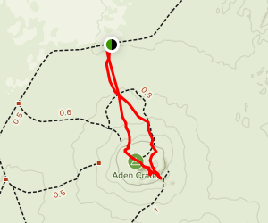 Aden Crater Trail Map