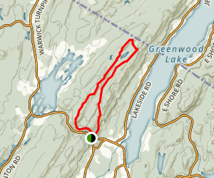 Bearfort Ridge: Surprise Lake Loop Trail Map