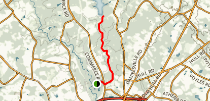 Cook's Trail Map
