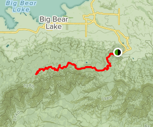 Skyline Divide Trail Map