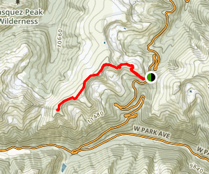 Stanley Mountain Trail Map