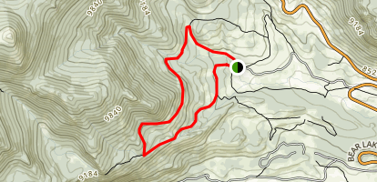 Beaver Mountian Trail Map