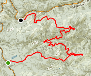 Switzerland Trail Map