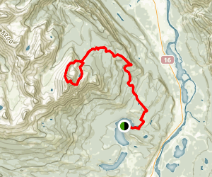 Pyramid Mountain Map